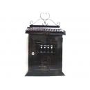 y12454 大房子鐵製信箱-仿古銅色 #55